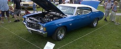 Chevrolet Chevelle `72, 2-door coupe