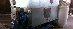 Round briquettes press HÖCKER Polytechnik Brikstar C 11-19