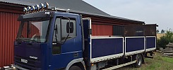 Iveco 100 E21 - 97 bil/maskintransport  EBG 973