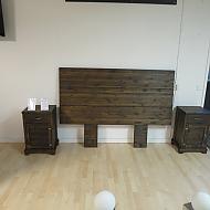 Huvudgavel och sängbord