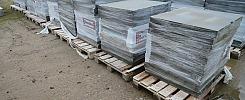 Ca 114 st betongplattor/kabelrännelock