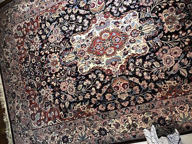Persisk matta Sarough 200x300 cm, Handknuten