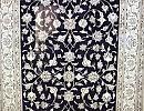 Persisk matta Nain med silkesinslag, 295 x 195 cm.
