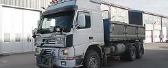 Volvo FM 12 RLL218 6x2 Tippbil med plogutrustning