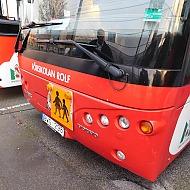 Volvo Helmark B7R förskolebuss - 2010.  BWG296 5800mil