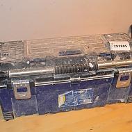Verktygslåda med verktyg m.m.