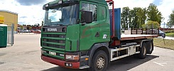 Flakväxlarbil Scania R124-00
