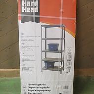 Förvaringshylla Hard Head 4 st