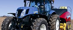 Traktor, New Holland T7.270. Næsten ikke brugt / Traktor, New Holland T7.270. knappast används