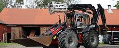 Traktorgrävare Huddig 1160 -97