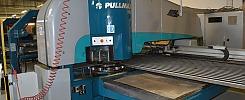 CNC Turret Punch, Pullmax 5000 with Hesta shaker / Pullmax 5000 med Hesta pladeryster