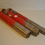 3 st Hilti kärnborr, 54mm, 72mm, 72mm