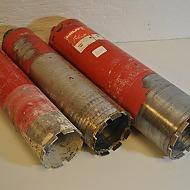 3 st Hilti kärnborr, 132mm, 112mm, 102mm