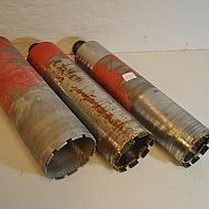 3 st Hilti kärnborr, 102mm, 112mm, 127mm