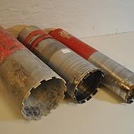 3 st Hilti kärnborr, 112mm, 152mm, 182mm