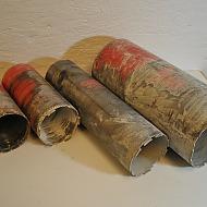 4 st Hilti kärnborr, 132mm, 132mm, 132mm, 202mm