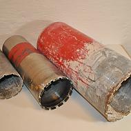 3 st Hilti kärnborr, 228mm, 152mm, 132mm