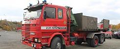 Scania R142H 6X2LC Brandfordon Lastväxlare - 87