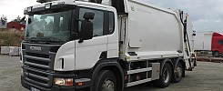 Scania P320DB 6X2 Sopbil baklastare - 11 (11500 mil!)