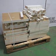 Soffbord IKEA lack 18 st samt 20 st IKEA pallar Oddvar