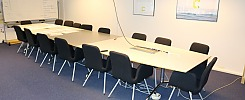 Conference table with 16 chairs