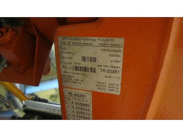Industrirobot IRB6400