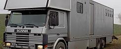 Scania P93M Hästtransportbil (4hästar) med bodel - 95