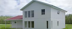 Stomme till en tvåplansvilla på cirka 180 kvm + inbyggt garage (ny modell)