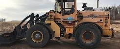 Hjullastare Ljungby L10 -99 (inkl. redskap i nyskick!)