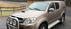 Toyota Hilux 3,0 Tdi dubbelhytt 2009